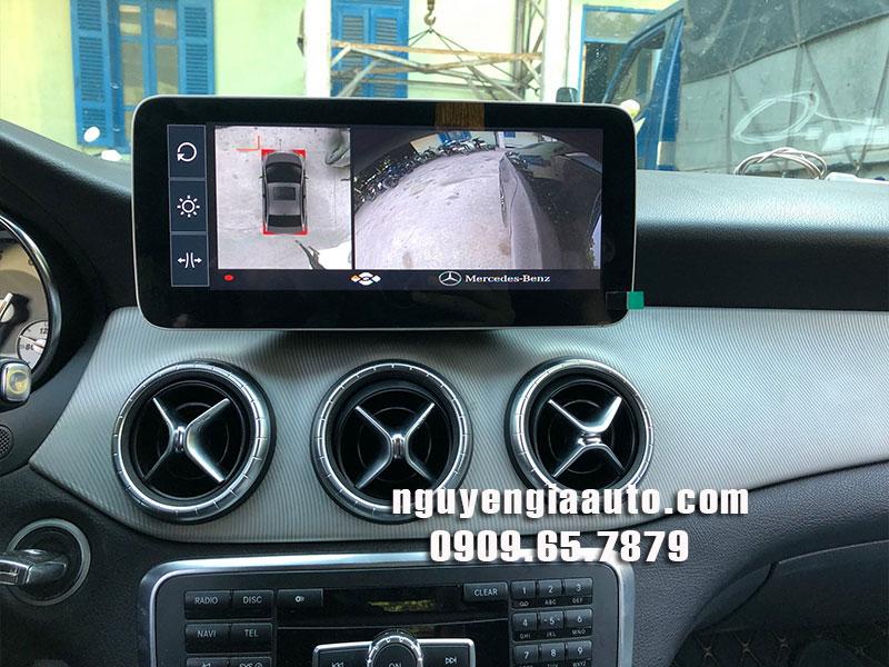 camera 360 độ lắp cho xe Mercedes CLA 200 chất lượng cao