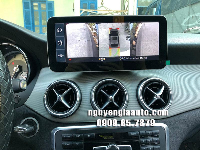 camera 360 độ lắp cho xe Mercedes CLA 200 giá rẻ