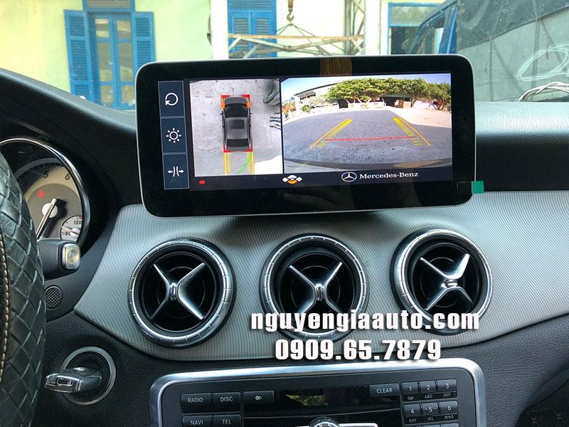 camera 360 độ lắp cho xe Mercedes CLA 200 chuyên nghiệp