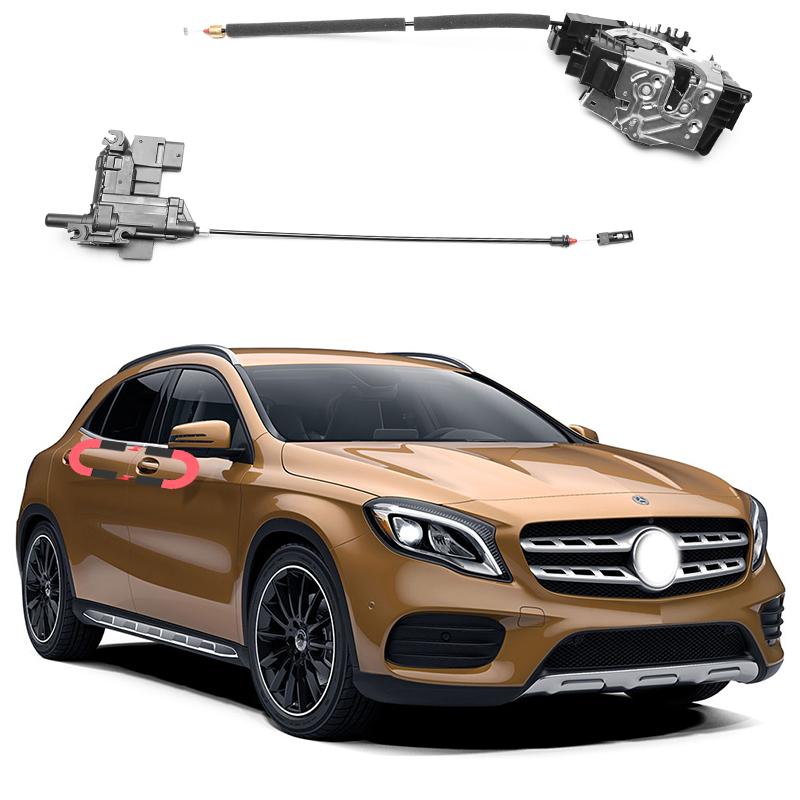 gắn cửa hít tự động cho xe Mercedes GLA