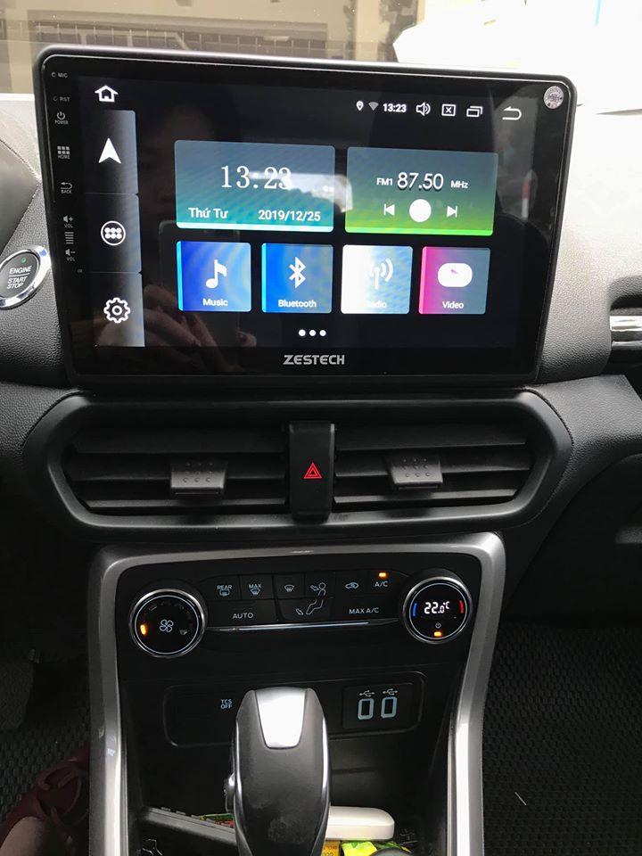 Lắp màn hình dvd Android Zestech Z800 Pro cho xe Ford Ecosport 2019 giá rẻ