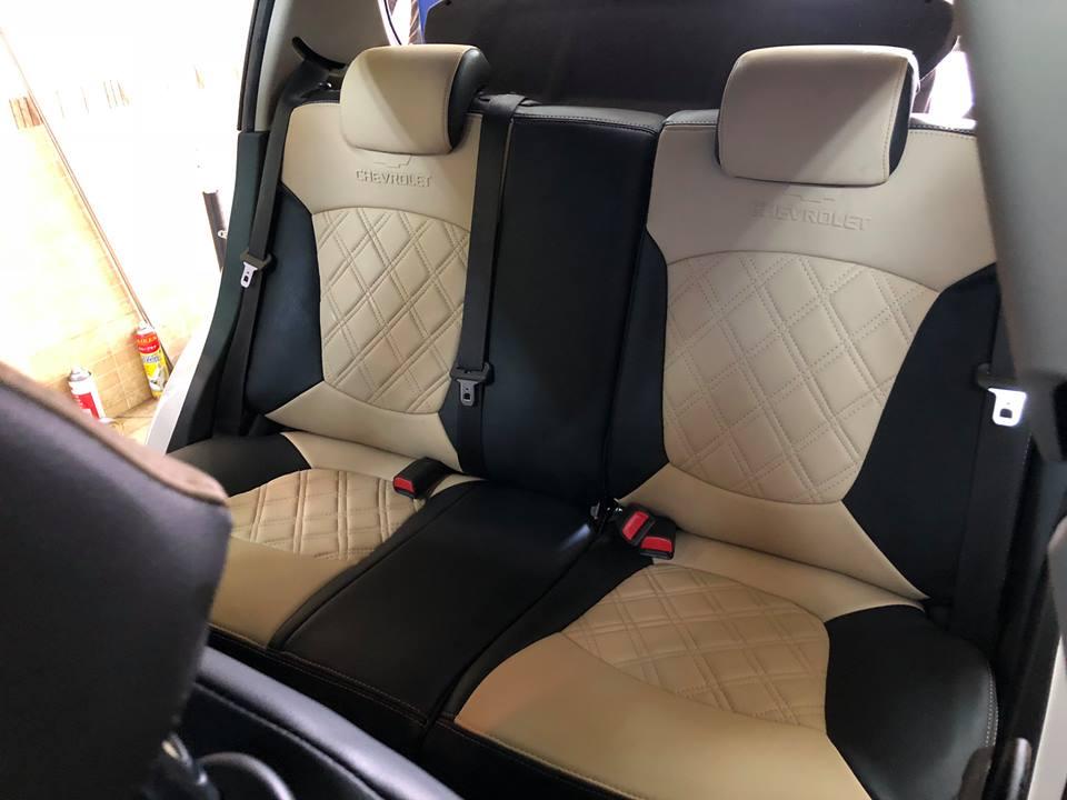 Bọc ghế da Chevrolet Spark 2018