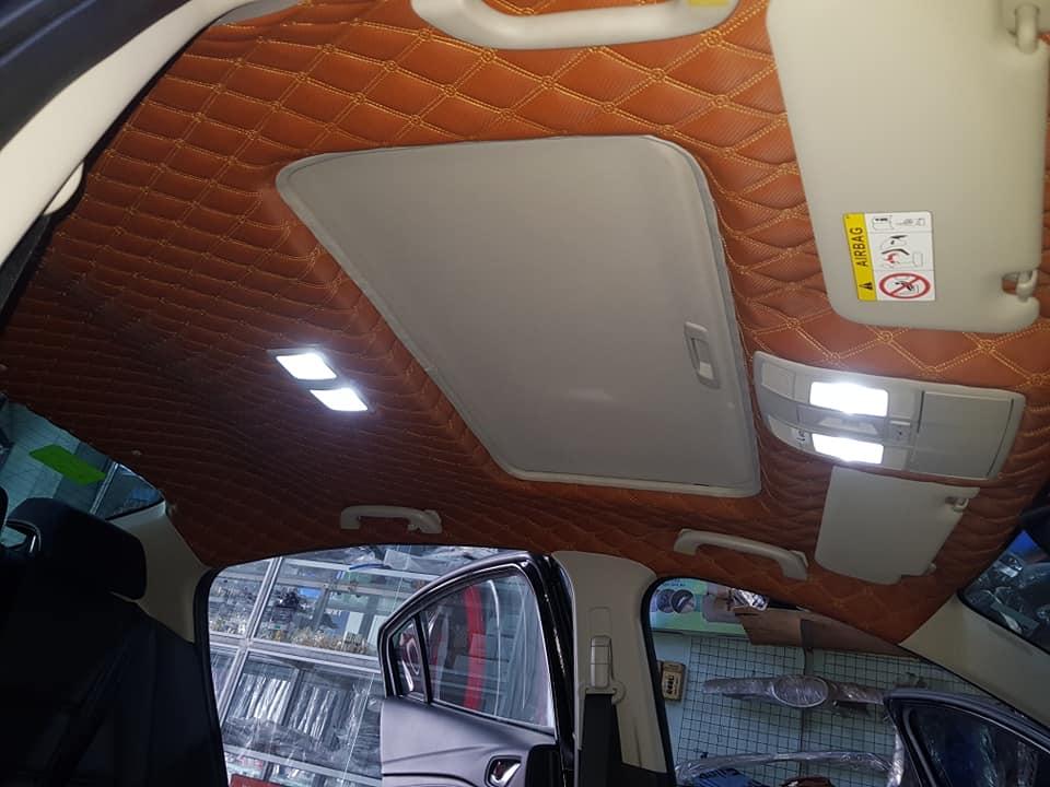 Bọc trần da 5D cho xe Mazda 6 2019