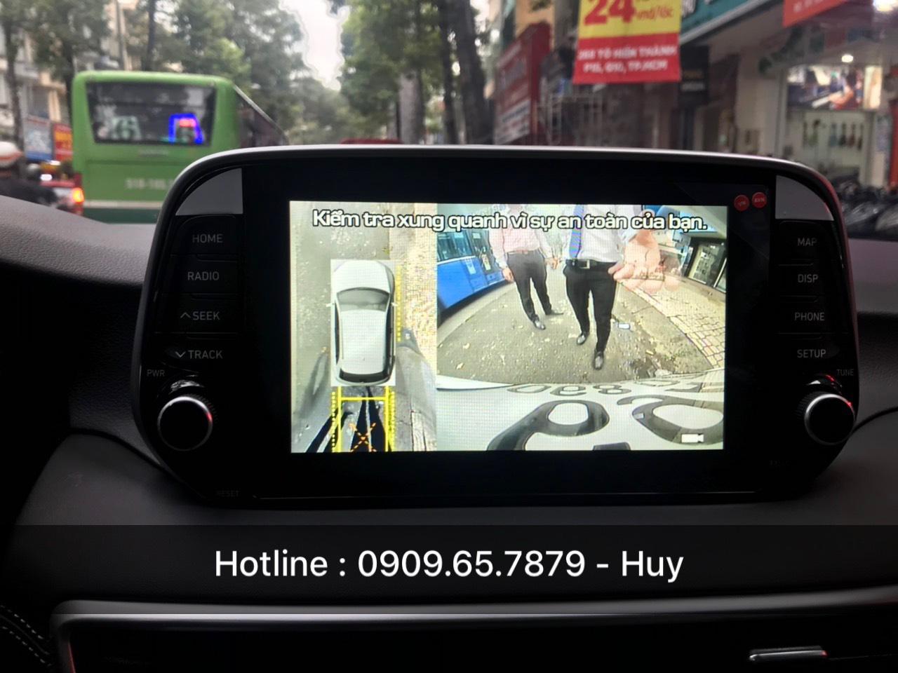 camera 360 độ owin cho xe ô tô Hyundai Tucson
