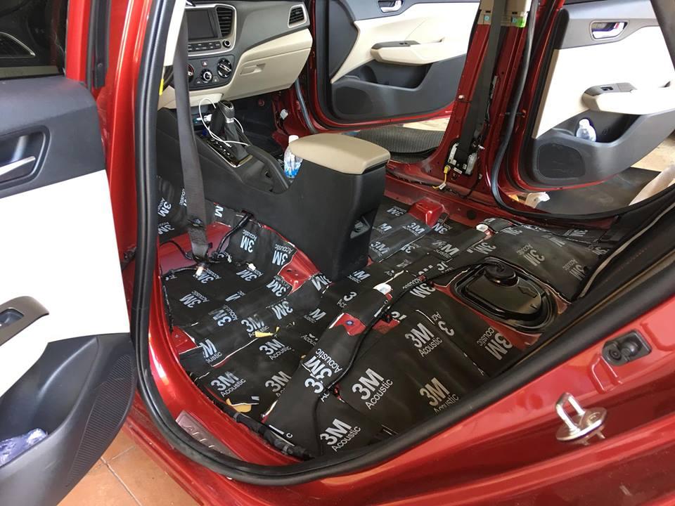 Dán cách âm chống ồn 3M Hyundai Accent 2018
