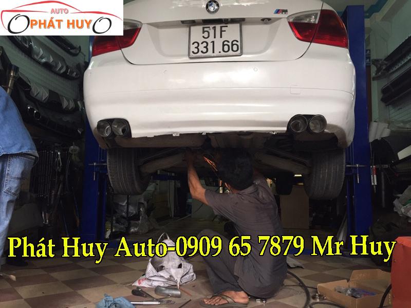 ĐỘ PÔ AKRAPOVIC THỂ THAO CHO XE BMW 320I