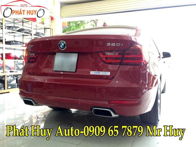 ĐỘ PÔ CHO XE BMW 320I 2016