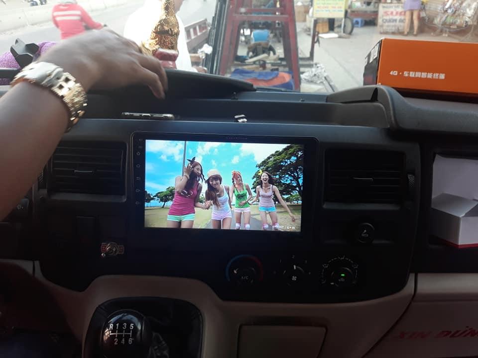 Màn hình dvd Android Ford Transit 2019