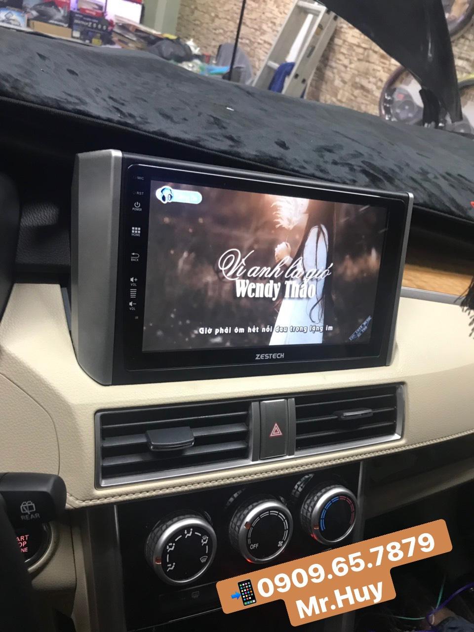 Mán hình zin theo xe Mitsubishi Xpander 2019