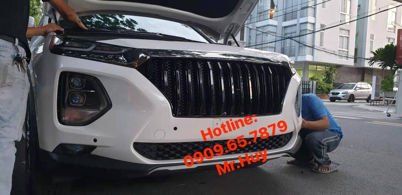 mặt nạ xe hyundai santafe zin 2019